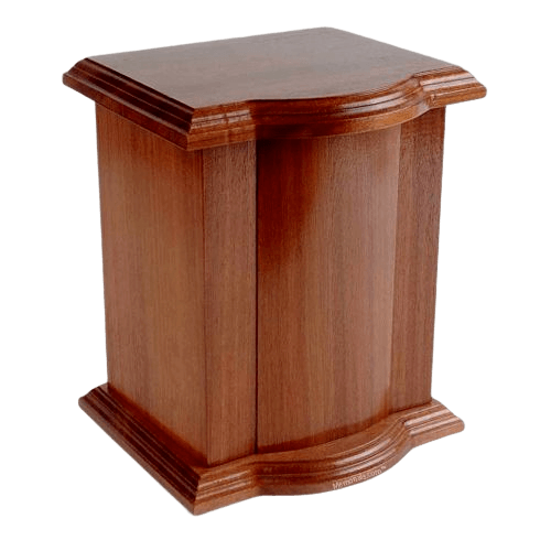 Hacienda Wood Cremation Urn