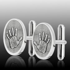Handprint Cuff Links