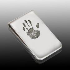Handprint Money Clip