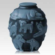 Happy Dog Cremation Urns