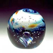 Harmony Ash Glass Weight