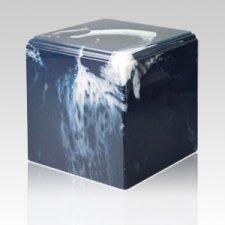 Harmony Azure Marble Cremation Urn