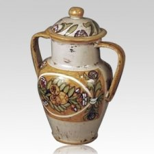 Almitas Ceramic Cremation Urn