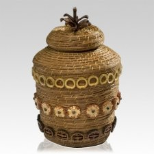 Hawaii Basket Nature Cremation Urn