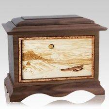 Hawaiian Wood Cremation Urns
