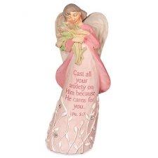 He Cares Keepsake Angel