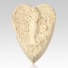 Heart Angel Keepsake Box