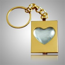 Heart Bubble Keychain Keepsake II