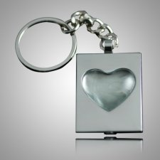Heart Bubble Keychain Keepsake