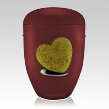 Heart Biodegradable Funeral Urns