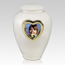 Heart Classic Cremation Urn