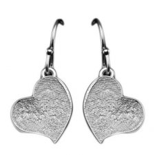Heart Drop Earring Print Keepsakes