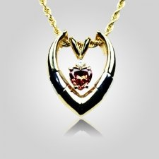Heart Shaped Enhancer Pendant
