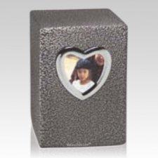 Heart Frame Child Urn