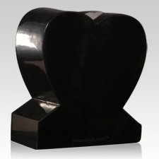 Heather Gray Heart Granite Vase