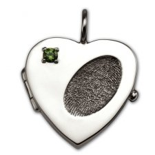 Heart Locket Print Keepsakes