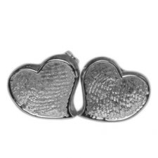 Heart Post Earring Print Keepsakes