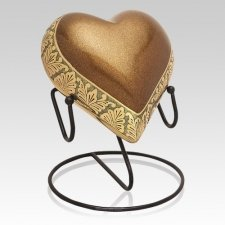 Heart of Gold Cremation Urns