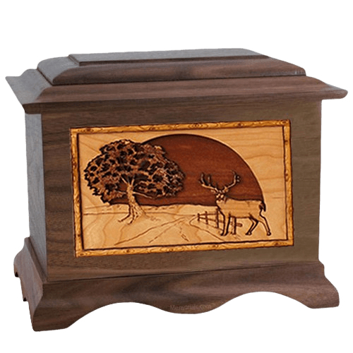Heartland Deer Wood Cremation Urns