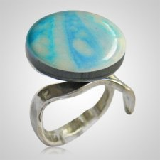 Heaven Memorial Ashes Ring