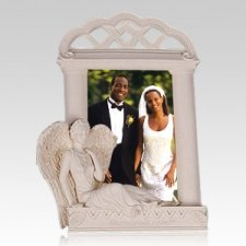 Heavenly Guardian Angel Photo Frame