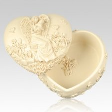 Heavens Love Angel Keepsake Box