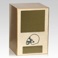 Helmet Sports Cremation Urn