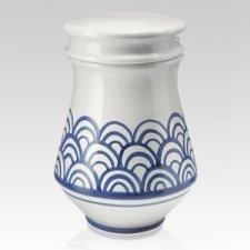 Henne Ceramic Cremation Urn