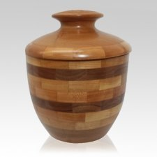 Heritage Wood Cremation Urn