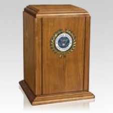 Hero Air Force Cremation Urn