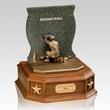 Heros Wall Cremation Urn