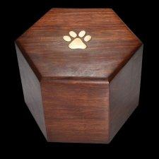 Hexagon Pet Cremation Urn