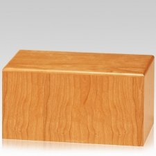 Hiawatha Natural Cherry Wood Urn