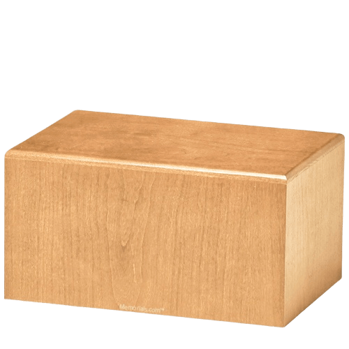 Hiawatha Oak Wood Urn