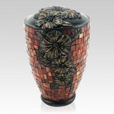 Hibiscus Garden Cremation Urn