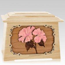Hibiscus Maple Aristocrat Cremation Urn
