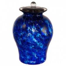 High Seas Glass Cremation Urn