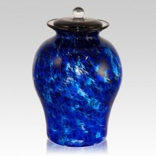 High Seas Glass Cremation Urn