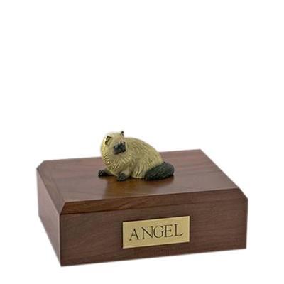 Himalayan Laying Small Cat Cremation Urn