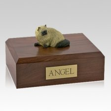 Himalayan Laying X Large Cat Cremation Urn