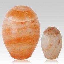 Himalayan Salt Biodegradable Urns