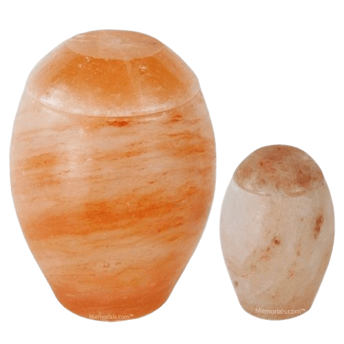 Himalayan Salt Biodegradable Urns