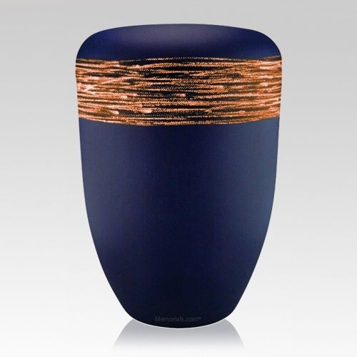 Strand Orange Biodegradable Urn