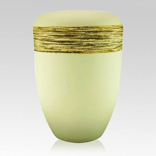 Fiber Gold Biodegradable Urn