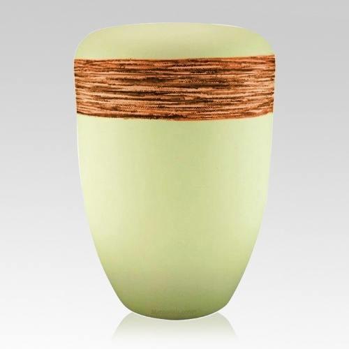 Fiber Orange Biodegradable Urn