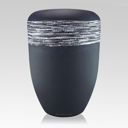 Slate Silver Biodegradable Urn