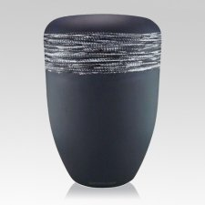 Himmel Grey Silver Biodegradable Urn