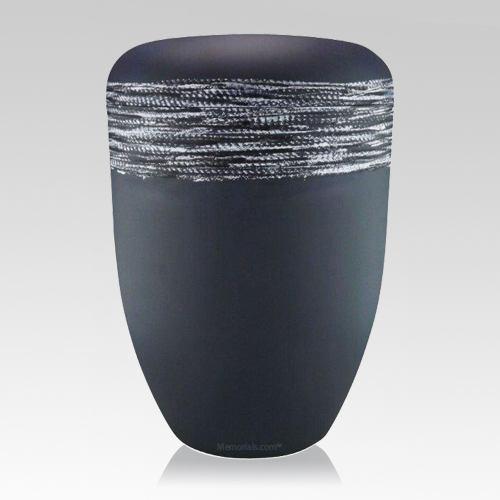 Slate Grey Biodegradable Urn
