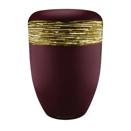 Weaved Gold Biodegradable Urn