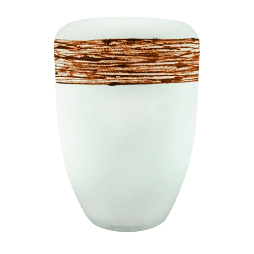Pure Orange Biodegradable Urn